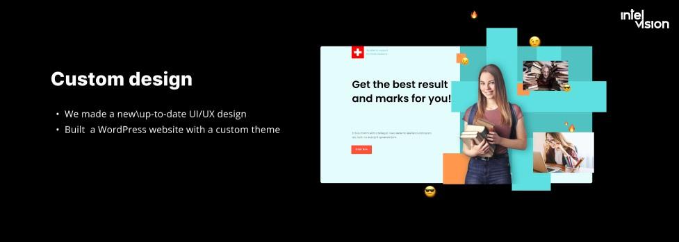 Intelvision and ecommerce website design development